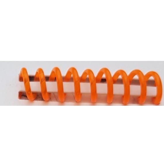 Reliure spirale plastique A 4  gris