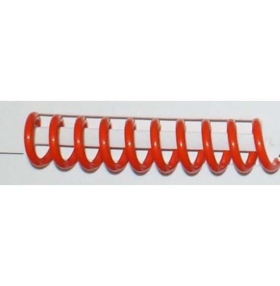 Reliure spirale plastique A 3 rouge