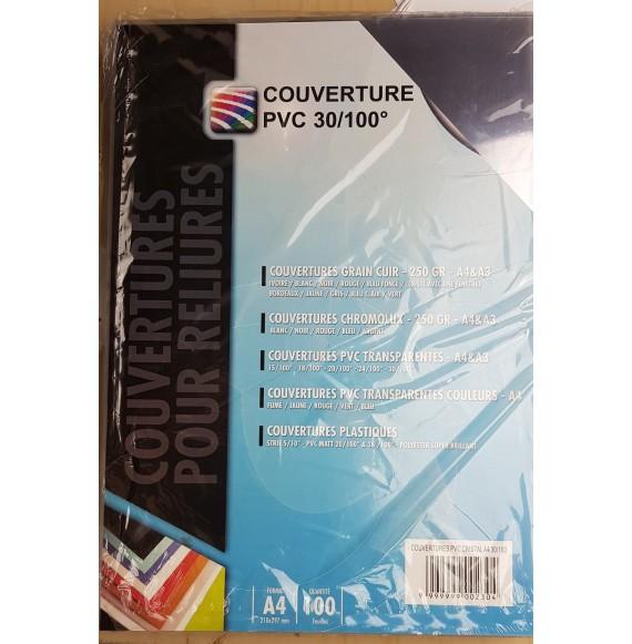 Couverture PVC cristal 20/100eme A3