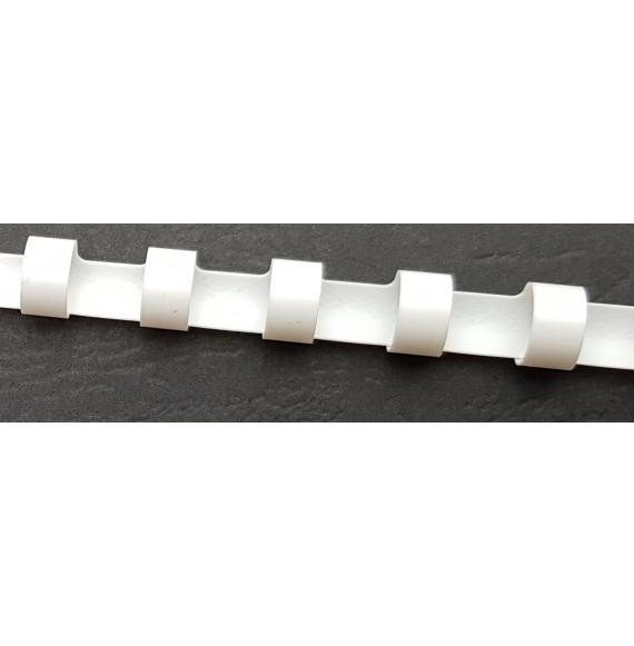 Fourniture reliure peigne plastique
