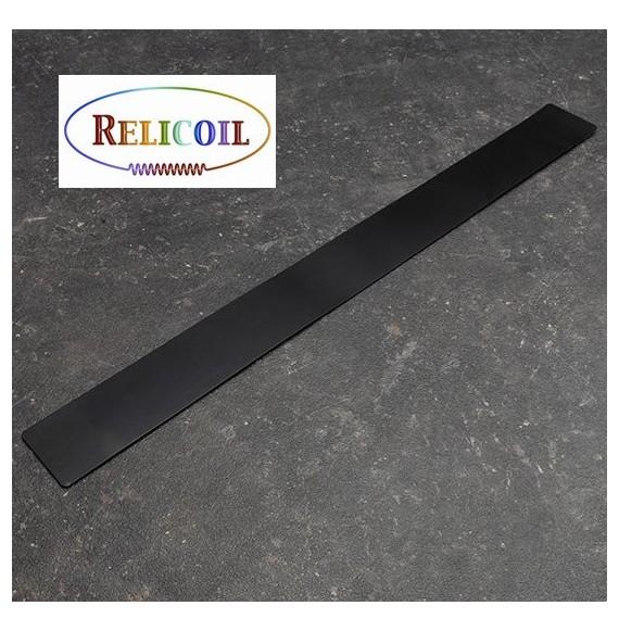 Bande métal auto-adhésive Noir largeur 50 mm de 500 mm
