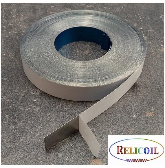 Rouleau métal auto-adhésive largeur 20 mm - 30 mètres
