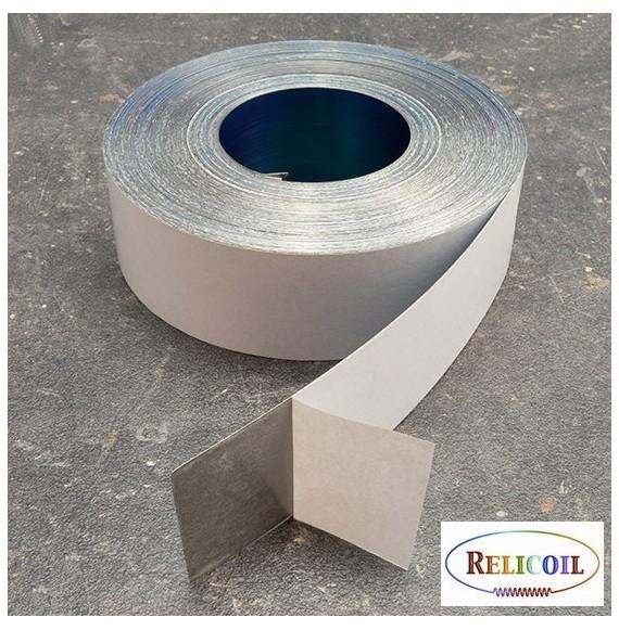 Rouleau métal auto-adhésive largeur 40 mm - 30 mètres