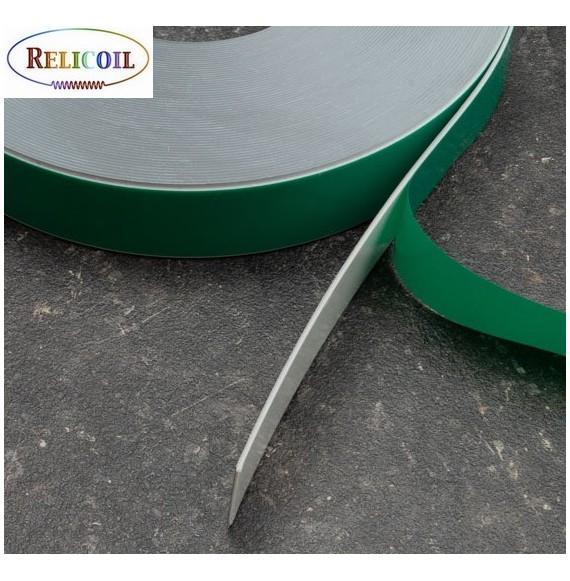 Rouleau métal avec mousse PE auto-adhésive Blanc largeur 35 mm - 30 mètres