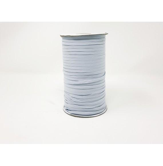 ELASTIQUE PLAT BOBINE 500 METRES BLANC