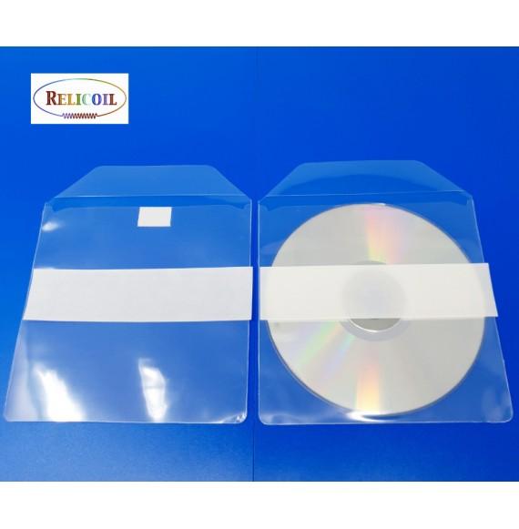 Pochette adhésive CD ECO par 200