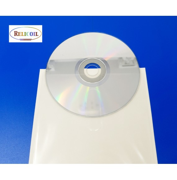 Pochette adhésive CD-DVD