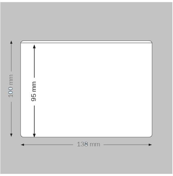 Pochette adhésive A3 PC 305 x 430 mm par 10