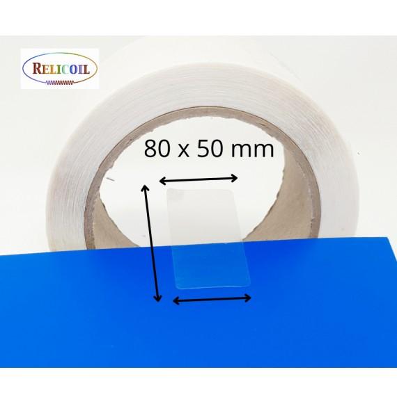 Pastille de scellement simple face permanent 80 x 50 mm par 1000