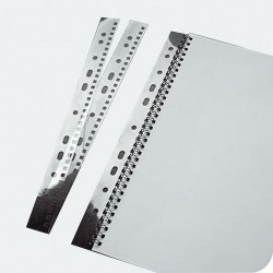 Bande de classement peigne métal trous carrés