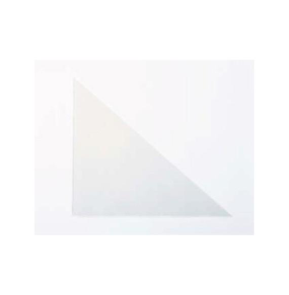 Pochette coin triangulaire 100 * 100mm par 200