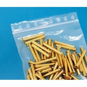 Sachet plastique zip transparent 90 microns