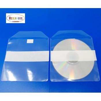 Pochette CD adhésive